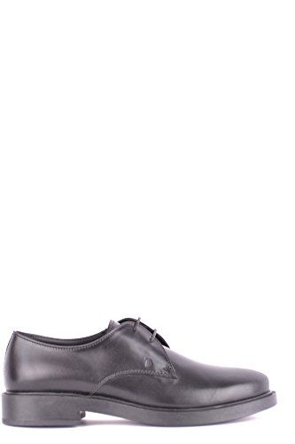 Tod's Women's Mcbi293235o Black Leather Lace-Up Shoes by Tod's