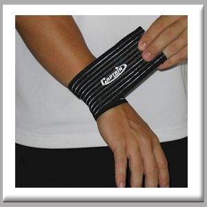 Captain Sports Elastic Wrist Wrap by Captain Sports (Wrist Captain Wrap Elastic Sports)