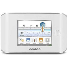 ecobee EB-EMS-02 Energy Management System Thermostat 4 Heat-2 Cool with Full Color Touch Screen