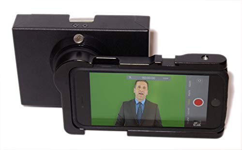 MicroPrompter - World's Smallest Professional Portable Teleprompter for Recording Videos on Your Smartphone, Camcorder or Small DSLR by MicroPrompter (Image #1)