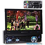 Soundstream VR-75XB In-Dash 1-DIN 7' LCD Screen DVD, CD/MP3, AM/FM Receiver with Bluetooth 4.0 & SiriusXM Ready