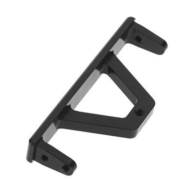 (ST Racing Concepts STA80026RBK CNC Machined Aluminum Rear Chassis Rail Brace for Axial SCX10 Jeep Wrangler, Deadbolt, Ram, Black)