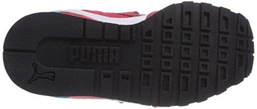 Puma ST Runner NL V Kids Unisex-Kinder Sneakers Rot (geranium-white-capri breeze 04)
