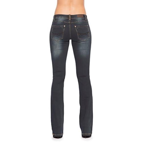 c3eef1802f Rubberband Stretch Women's Bootcut Jeans (Brooke/Blackberry) durable service