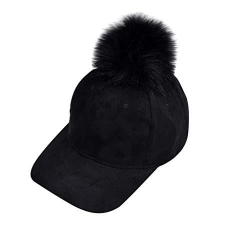 Kolylong Winter Hat Unisex Winter Baseball Cap Hat Warm Hat Men Women Ear Warm Hat