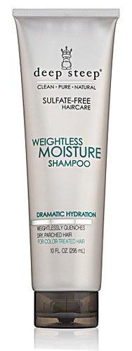 Deep Steep Weightless Moisture Shampoo -- 10 fl oz - 3PC