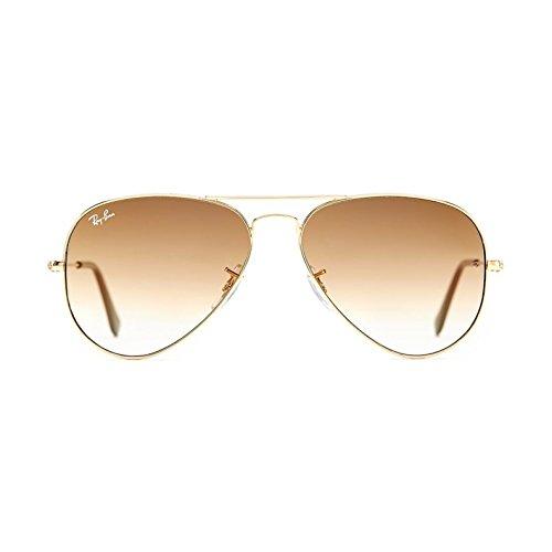Ray Color RB3025 51 001 Gold Sunglasses Ban Aviator rqHw8rI
