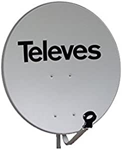 Televes 753511 - Antena parabolica off-set hierro disco 650 ...