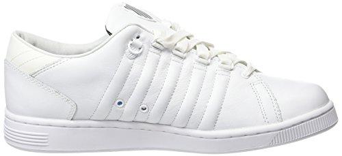 K-Swiss Lozaniii Tt Rflctv, Zapatillas para Hombre Blanco (White/Black)