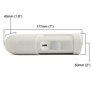 Rokonet Risco IrexPlus Request to Exit PIR Motion Sensor with Internal Buzzer and Relay Timer