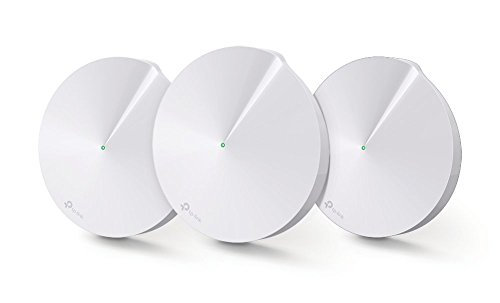 TP-Link Deco M5 Whole Home Mesh WiFi System | Up to 4,500 sq. ft. Coverage | Unique Antivirus Security Protection and Parental Controls | Works with Alexa and IFTTT | 3-Pack by TP-Link