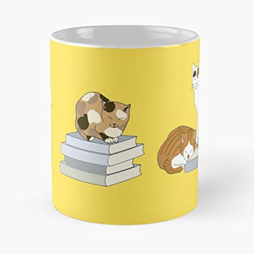 Cats Spotty Tabby -funny Present For My Greatest Boss Male Or Female, Men, Women, Great Office Gift Mugs, Birthday, Leaving, Bold, Cup, 11 - Bookcase Boss