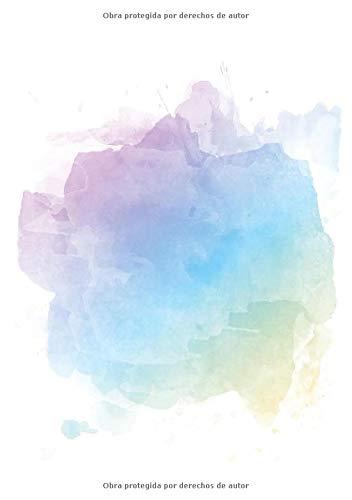 Libretas de Puntos: Cuadernos con Puntos, Cuaderno A5 Puntos, Cuaderno Dot, Cuaderno Dot Grid - Libreta Acuarela #9 - Tamaño: A5 (14.8 x 21 cm) - 110 ... pequeña,libretas bonitas,notizbuch) por Prime Publishing