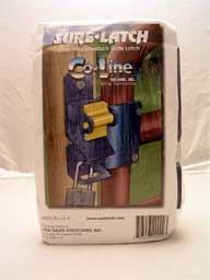 Co-Line Welding #7000-OWR-158-2 1WY Lockable Gate Latch - Latch Lockable 2 Way