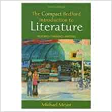 Thinking and Writing about Literature: A Text and Anthology