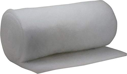 72/% Arrestance Efficiency 65 Long x 45 Wide x 3//4 Thick Synthetic Air Filter Media Roll Made in USA MERV 4 4 Pack