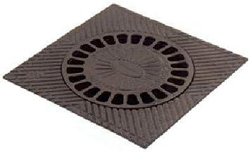 Sumidero campana Fundicion 30X30cms negro