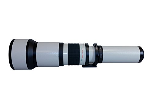 Digitalmate 650-1300mm f/8-16 HD Telephoto Zoom Lens
