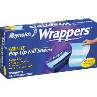 Reynolds Wrappers Aluminum Foil Sheets, 50-Count  (Pack of 9)