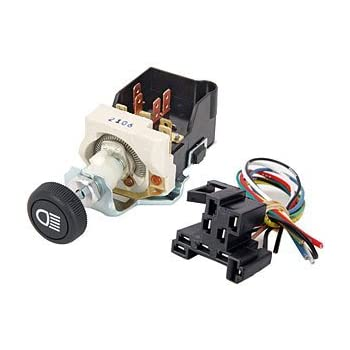 painless wiring headlight switch painless wiring harness diagram for a 5 switch panel amazon.com: painless wiring 80154 headlight switch 4 pos ...