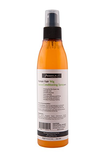 Awesome Human Hair Wig Leave-In Conditioning Spray, ph5, Spray and Go, 7 oz by Awesome (Image #1)