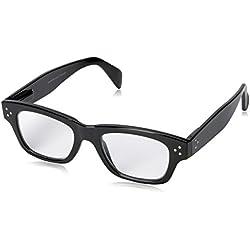 Peepers Women's Dauntless 2308150 Rectangular Reading Glasses, black, 1.5