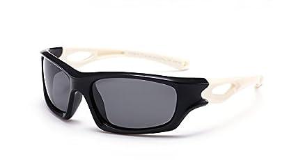 Baianf Gafas de Sol para niños Sport Driving TR90 Infantil Niños Gafas de Deporte Accesorios para
