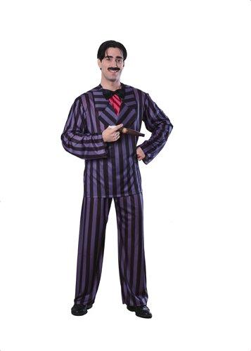 The Addams Family Gomez Adams Costume, Black, Standard
