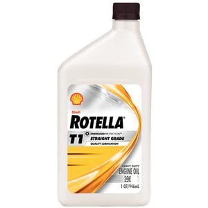 Shell Oil Rotella 40 Weight Diesel Oil Qt 550019904