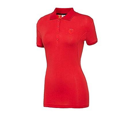PUMA Ferrari - Rojo Shield Polo, Rojo: Amazon.es: Deportes y aire ...