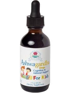 Alcohol Ashwaganda - Ayush Herbs - Ashwagandha for Kids 2 fl oz by Ayush Herbs