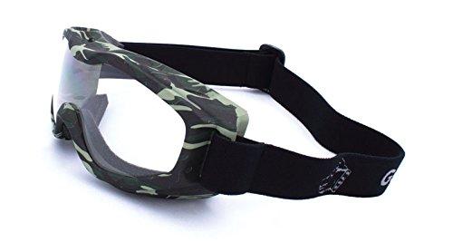 Guard-Dogs, Aggressive Eyewear Evader 2 Camo Clear w/FogStopper