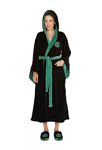 Harry Potter Ladies Bathrobe Slytherin Groovy Pigiami -