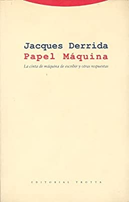 Papel Maquina/ A Machine Paper: Cinta Maquina Escribir Y Otras Resp (Spanish Edition)
