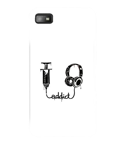 printtech Cool Quotes Music Addict Drug Back Case Cover