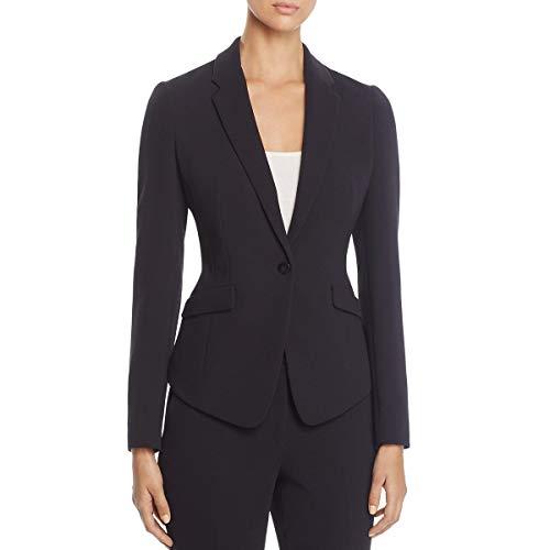 Hugo Boss BOSS Womens Jalania Business Office One-Button Blazer Navy 8