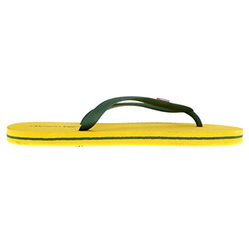 Belt Gelbgrün Cotton Flops Flip Frau Px4fF