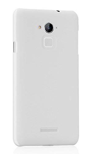 imaginedesign wow imagine rubberised matte hard case back cover for coolpad note 3 plus  white    White