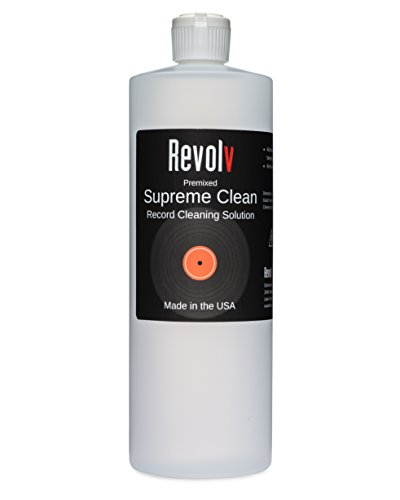 Revolv Supreme Clean Record Cleaning Solution (32 oz.)