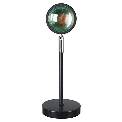 Sunset Lamp ,Sunset Projection Lamp,180 Degree Rotation USB Sunset Night Light,Romantic Visual LED Light for Home Party Living Room Bedroom Decor