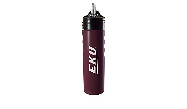 Clear 24oz Tervis 1259092 Eastern Kentucky Colonels College Pride Insulated Tumbler with Wrap and Maroon Lid