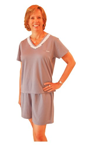Cool-jams Moisture Wicking Kristy Shorty Pajama Set(S-XL)