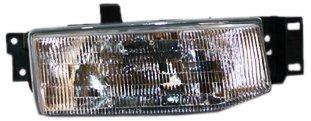 Escort Passenger Side Fender - TYC 20-1750-00 Ford Escort Passenger Side Headlight Assembly
