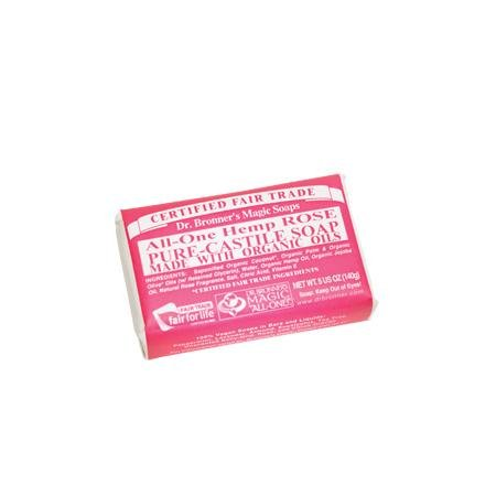 Dr. Bronner's Rose Soap 1 Bar