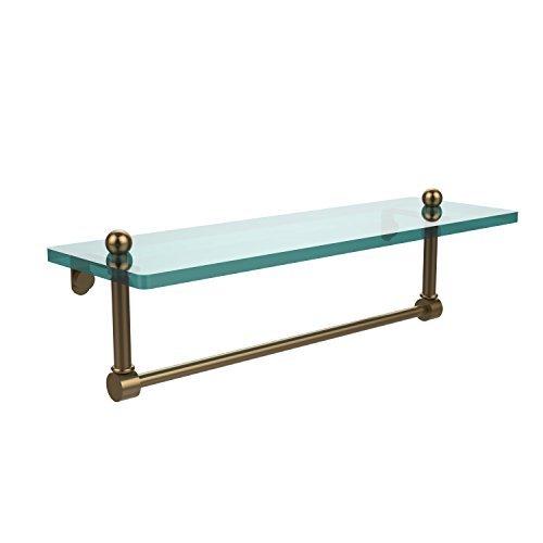 Allied Brass 16 Single Shelf w/Towel Bar Brushed Bronze [並行輸入品] B078XLZ3VS
