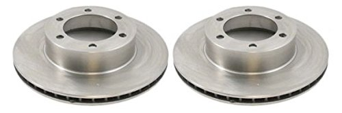 (Front Disc Brake Rotor Pair Set for Toyota Tacoma 4Runner)