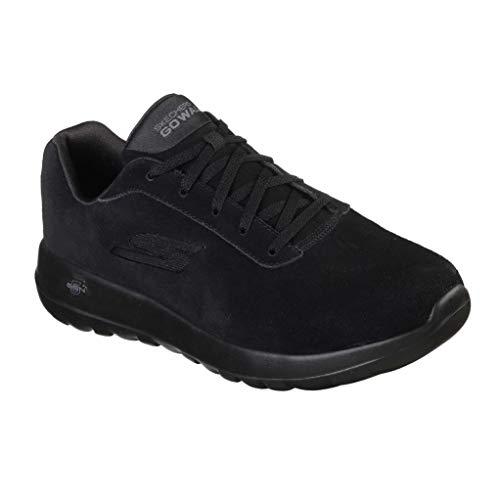 Leather 5 Black Entrenadores Hombre Walk 45 Eu Skechers Go Max Evaluate BSOwXqzX