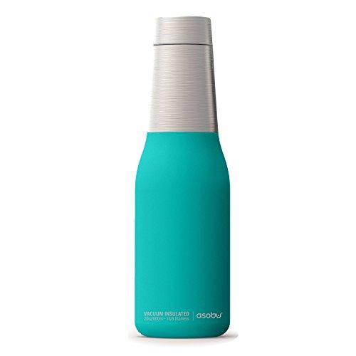 Asobu The Oasis Vacuum Insulated Double Walled 20oz Water Bottle (Turquiose)