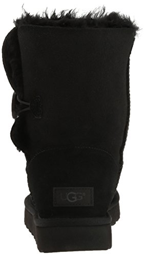 UGG Women's Bailey Button II Winter Boot, Black, 9 B US by UGG (Image #2)