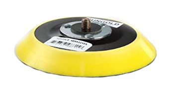 Sungold Abrasives 20-71500 5-Inch x No Hole Hook & Loop Back-Up Pad Type A Medium Profile